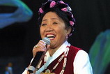 西藏当代歌唱家才旦卓玛