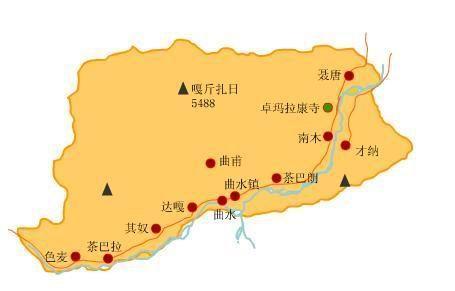 西藏频道 西藏地图集 > 正文         地处西藏中南部的拉萨河下游.