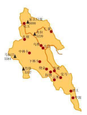 梅里雪山属自然风景区,被当地农牧民视为神山.     责编:李戎