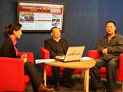 中国西藏信息中心和西藏文化网总编辑张小平、《西藏民主改革五十年》第二集编导王礼做客央视网。